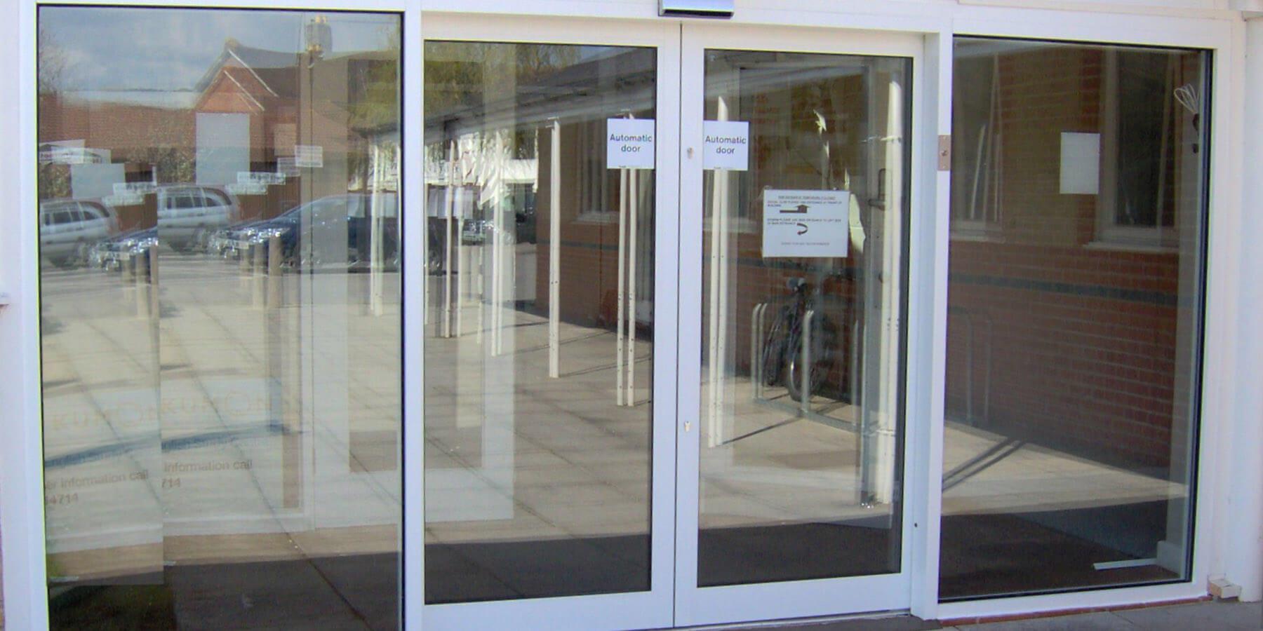 Glass Automatic Doors Norfolk