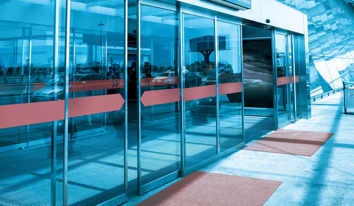 Motion Sensor Automatic Doors