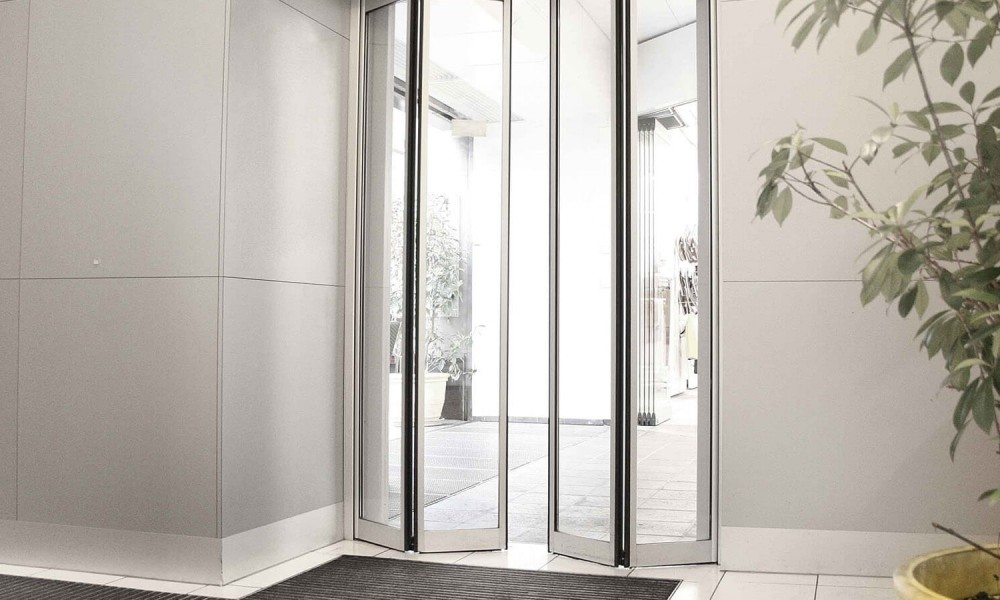 Glass Commerical Doors London
